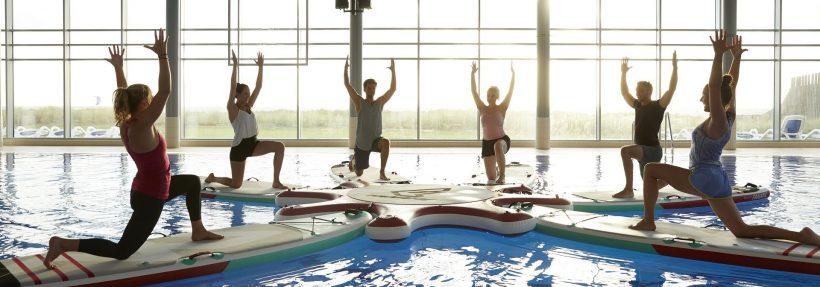 Indoor Sportspecials in der Sylter Welle und dem Syltness Center